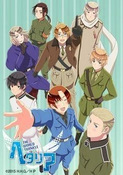 Hetalia: The World Twinkle English Subbed