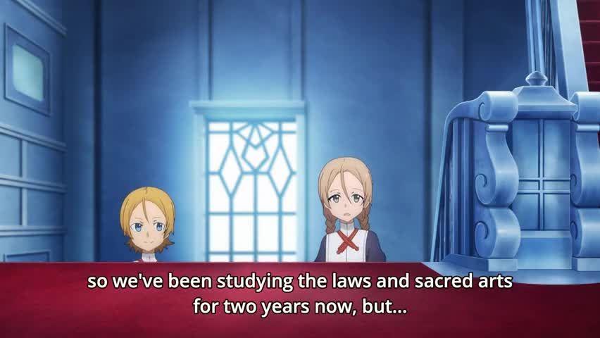Sword Art Online: Alicization Episode 8 English Subbed